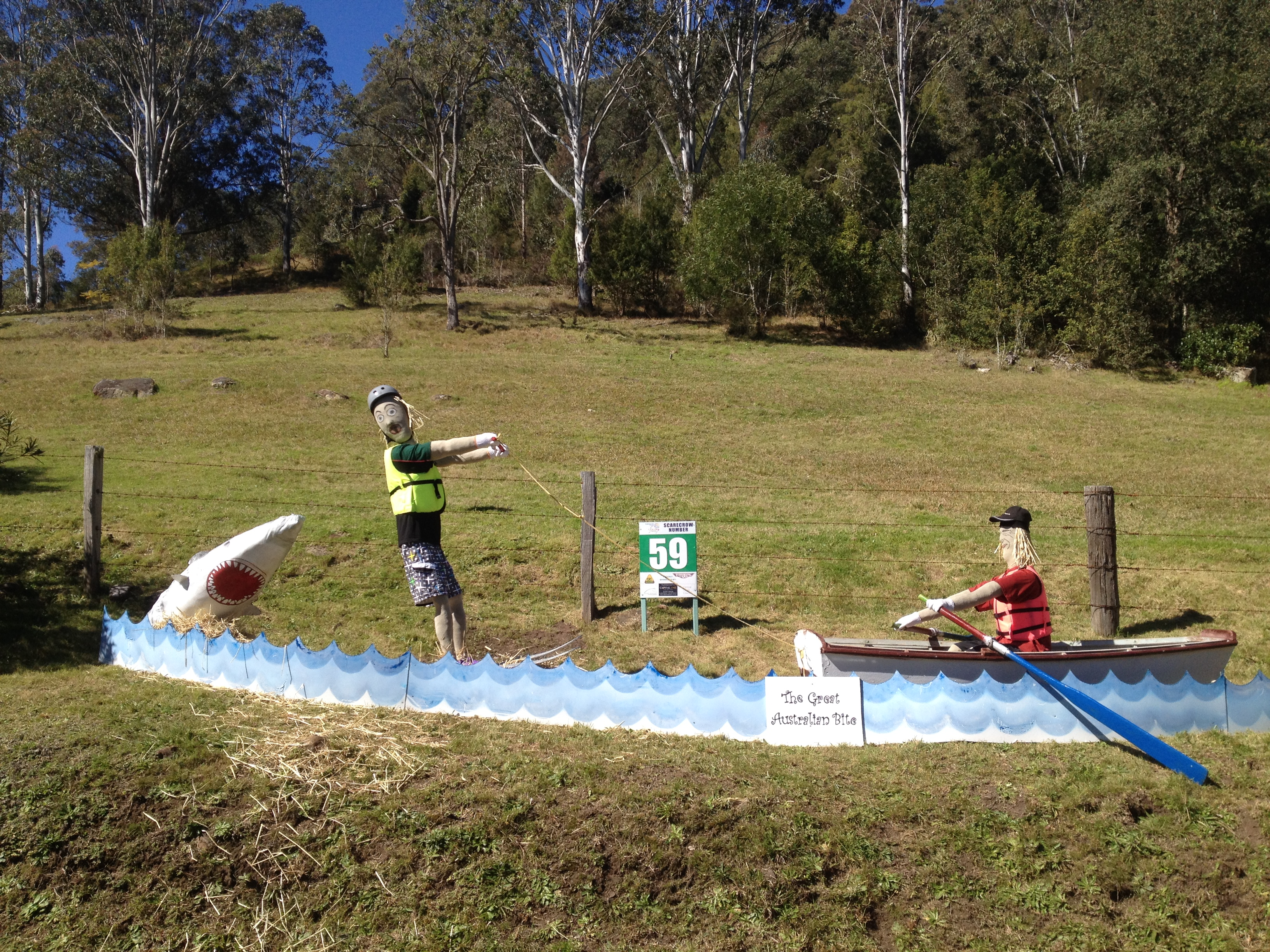 spring of hope 2017 scarecrow competition 171 yarramalong valley 2436