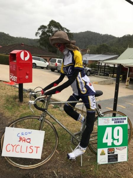 49 - Crow Cyclist